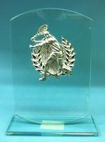 trofeo cristal tenis