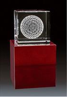 trofeo golf cristal