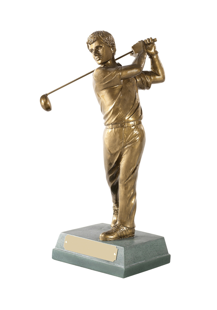 FIGURA RESINA GOLF SWING