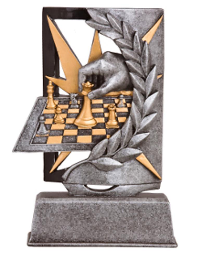 figura resina ajedrez