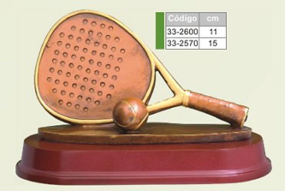 trofeo resina padel